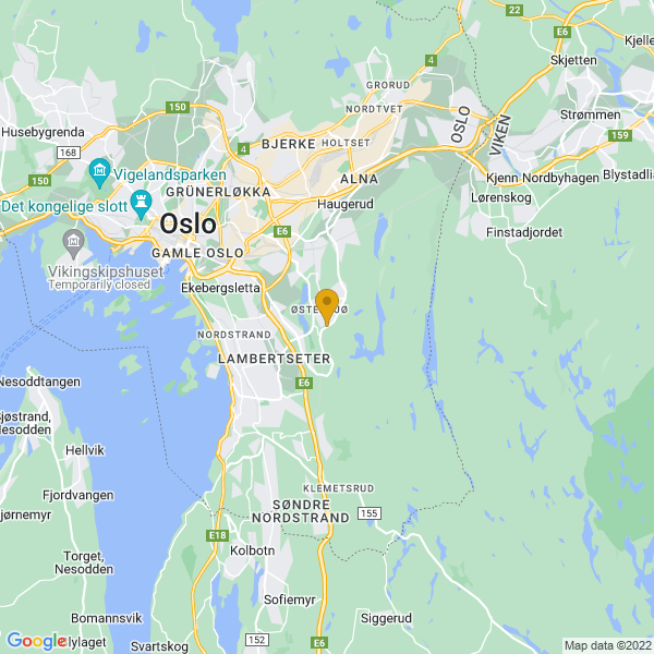 Google Map of 59.88356549999999,10.8439749