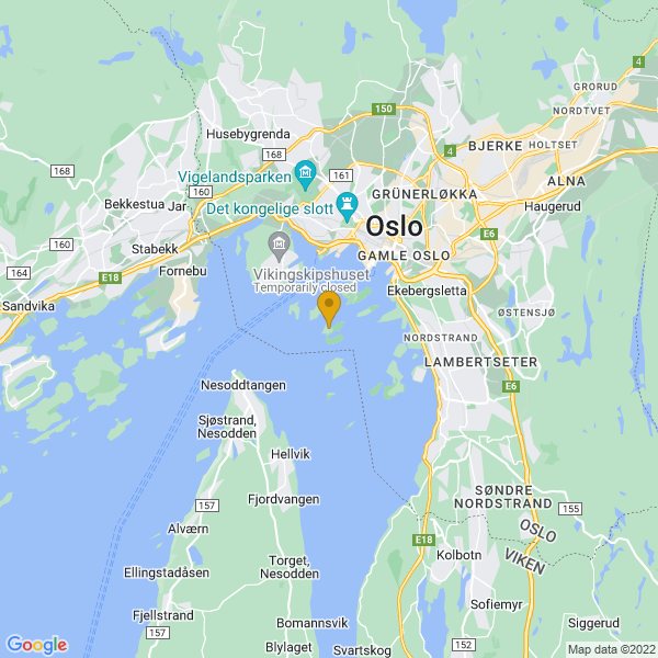 Google Map of 59.883794889308135,10.71553162454172