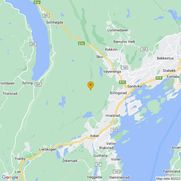 Google Map of 59.8860207,10.4275361