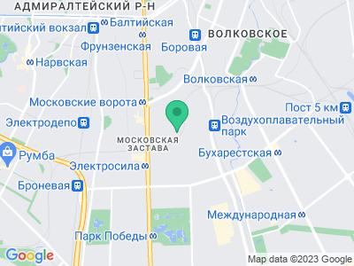 Схема проезда Яхты на колесах (Санкт-Петербург)