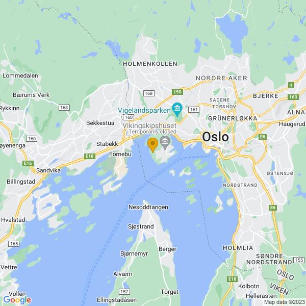 Google Map of 59.902814854954194,10.668268335959796