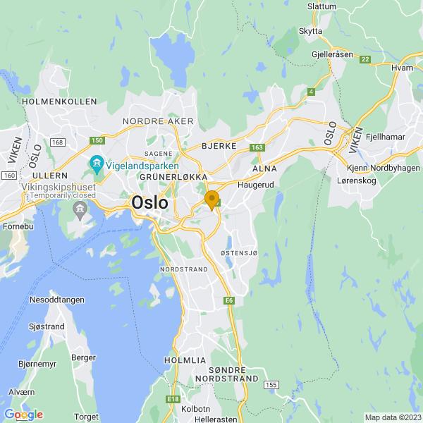 Google Map of 59.909127,10.812933