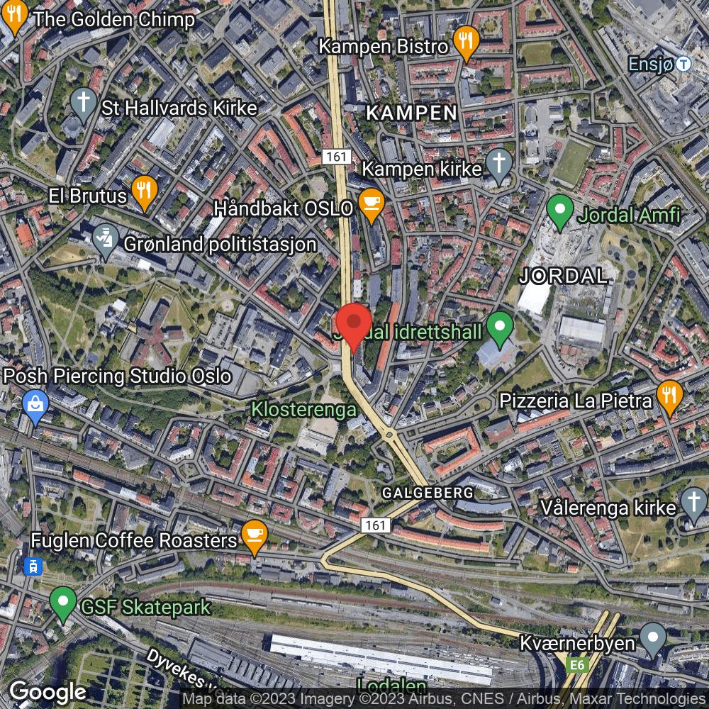 # NEDRE KAMPEN / TØYEN