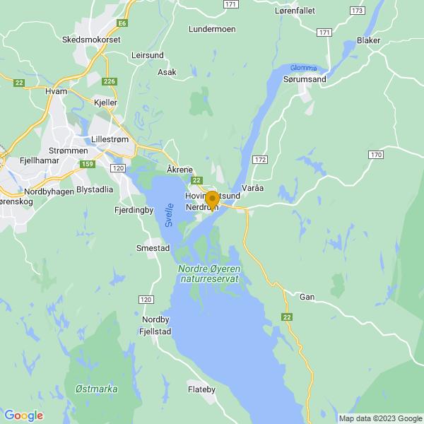 Google Map of 59.9205584,11.149983799999973