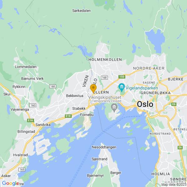 Google Map of 59.9254743,10.638840699999946