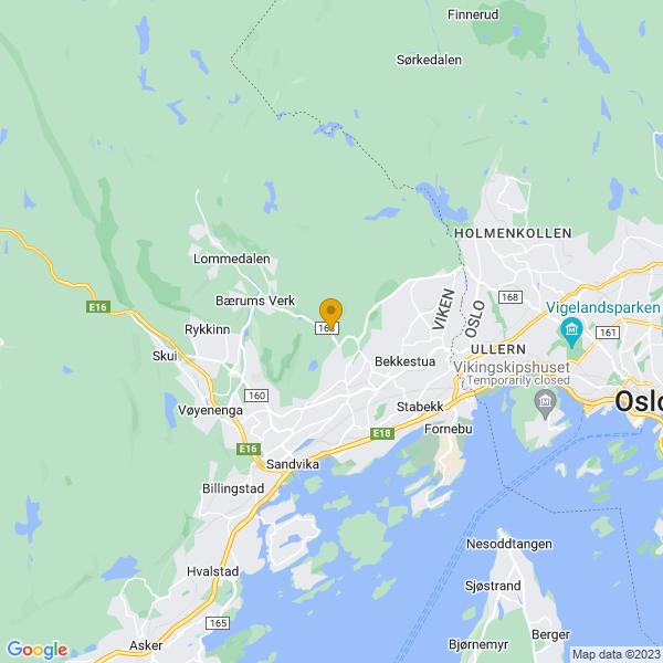 Google Map of 59.932278,10.55138199999999