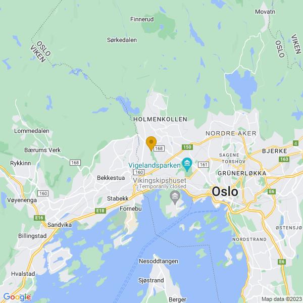Google Map of 59.94103579999999,10.652349500000014