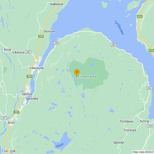 Google Map of 59.95413211580908,10.103035036634992