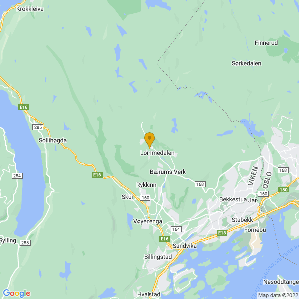 Google Map of 59.95742329999999,10.4786125