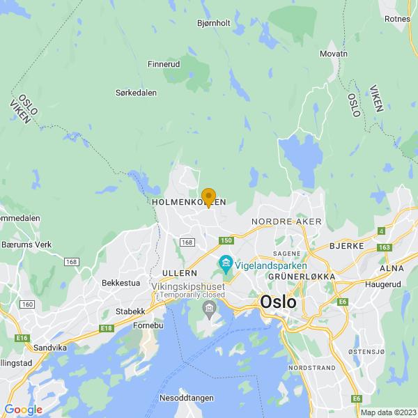 Google Map of 59.959457,10.683933
