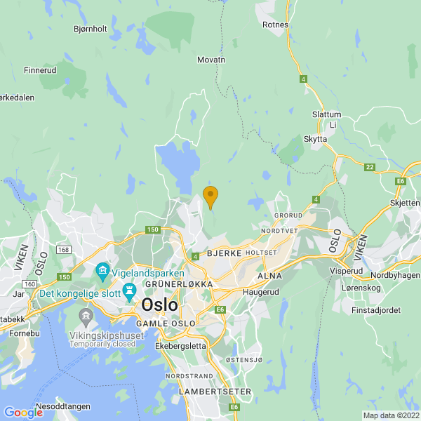 Google Map of 59.96215839281817,10.806525097869875