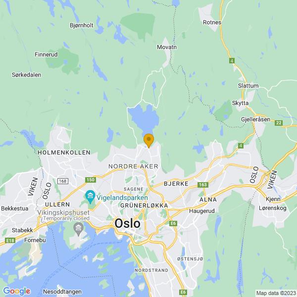 Google Map of 59.965744,10.78193