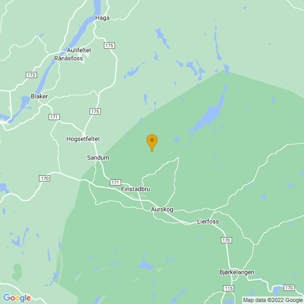 Google Map of 59.9664953,11.454931699999975