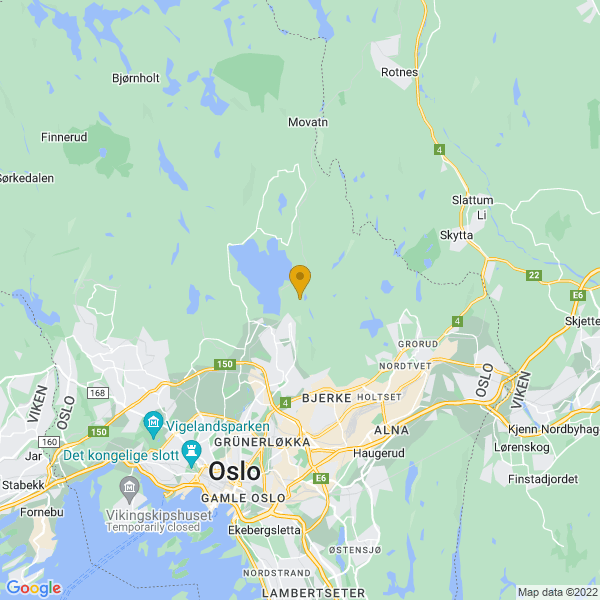 Google Map of 59.9750015,10.8018712