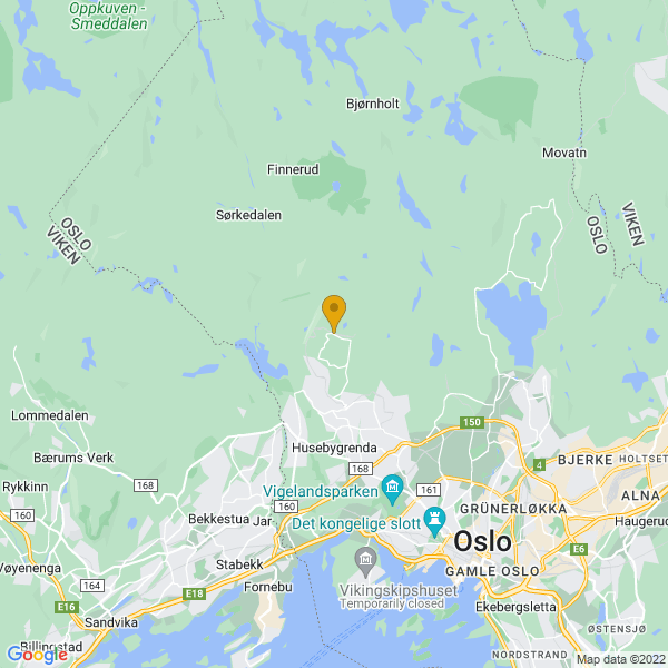 Google Map of 59.98014149999999,10.6651668