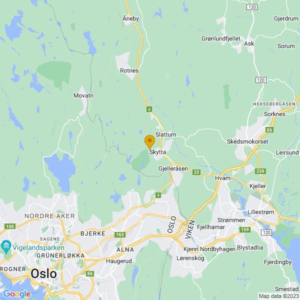 Google Map of 59.99880169999999,10.8983583