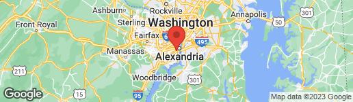 Map of 5904 MOUNT EAGLE DRIVE #202 ALEXANDRIA, VA 22303