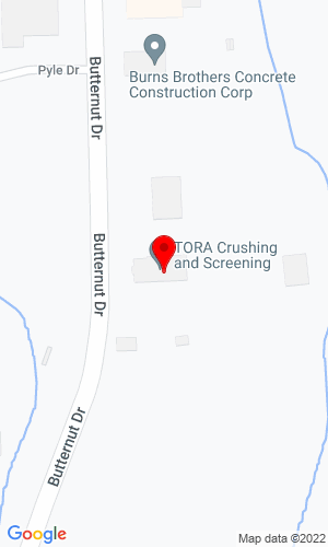 Google Map of Tora Crushing and Screening 5908 Butternut Drive, East Syracuse, NY, 13057