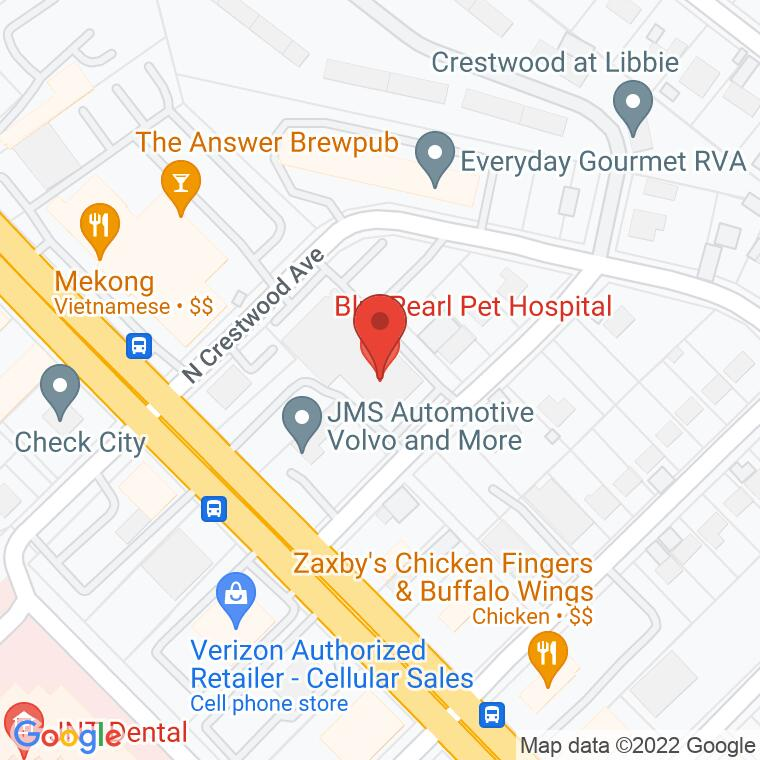 Google Map of 5918 West Broad Street, Richmond, VA 23230, 5918 West Broad Street, Richmond, VA 23230