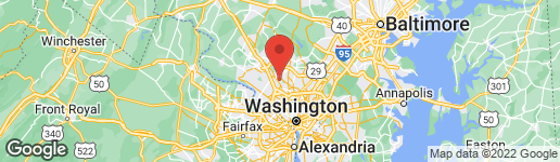 Map of 5928 HOLLAND ROAD ROCKVILLE, MD 20851