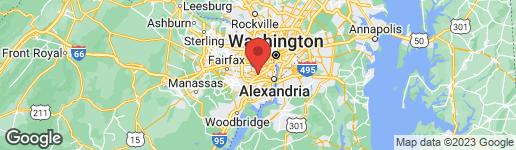 Map of 5933 QUANTRELL AVENUE #303 ALEXANDRIA, VA 22312