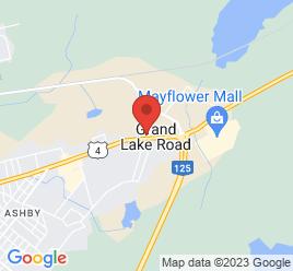Google Map of 595+Grand+lake+Rd%2CSydney%2CNova+Scotia+B1P+6T3