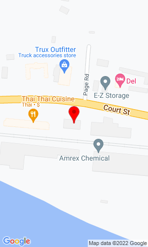 Google Map of Bobcat of Binghamton 596 Court Street, Binghamton, NY, 13904