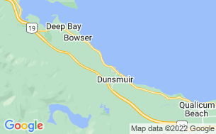Map of Qualicum Bay Resort