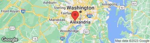 Map of 5984 WESCOTT HILLS WAY ALEXANDRIA, VA 22315