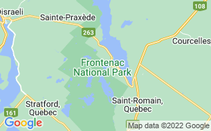 Map of Camping Parc National De Frontenac Baie Sauvage