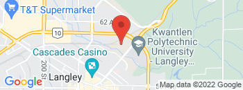 Google Map of 5995+Collection+Drive%2CLangley%2CBritish+Columbia+V3A+0C2