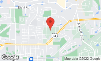 Map of 5S428 Sherman Avenue NAPERVILLE, IL 60563