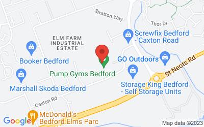 Map of PostureFit at Pump Gym, Bedford