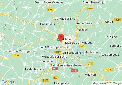 Localisation de ANTOINE DISTRIBUTION