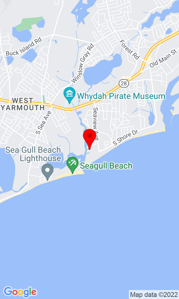 Google Map of 6 Compass Drive South Yarmouth MA