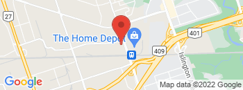 Google Map of 6+Namco+Road%2CToronto%2COntario+M9W+1M5