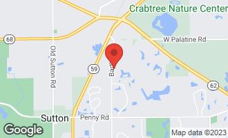 Map of 6 Brooke Lane South Barrington, IL 60010