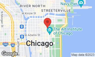 Map of 6 North Michigan Avenue #1603 CHICAGO, IL 60602