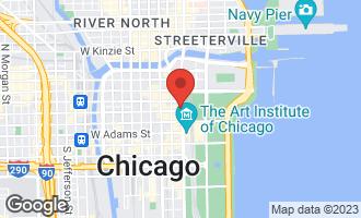 Map of 6 North Michigan Avenue #1901 CHICAGO, IL 60602