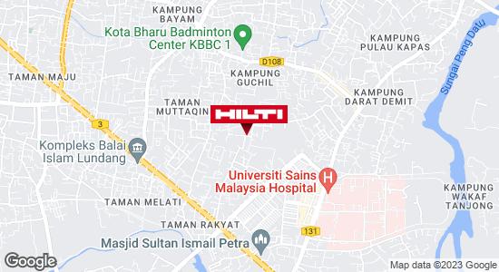 Get directions to Kubang Kerian