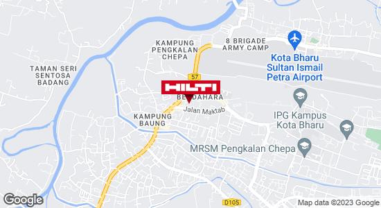 Get directions to Padang Tembak