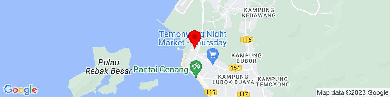Google Map of 6.303675, 99.72249166666667
