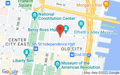 Map of Benjamin Lovell Shoes - Old City, PA