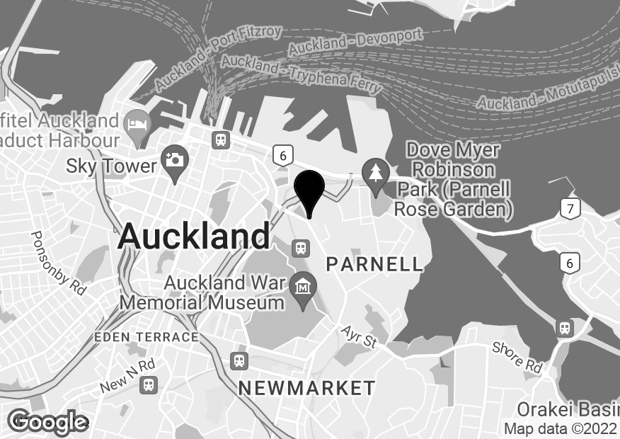 Google Map of Level3,60 Parnell Road, Parnell, Auckland, 1052