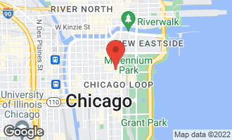 Map of 60 East Monroe Street #2903 CHICAGO, IL 60603