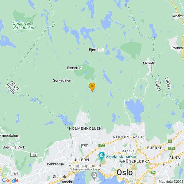 Google Map of 60.0039081,10.6794137