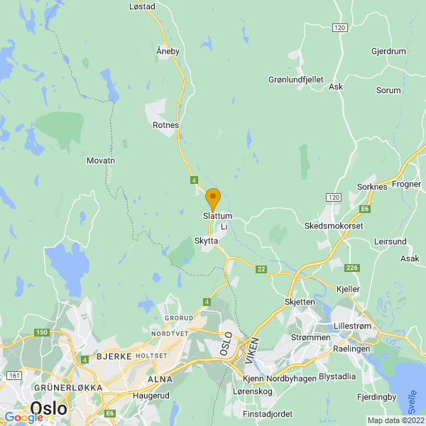 Google Map of 60.0106617,10.9158439