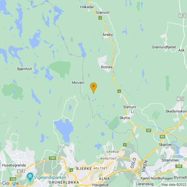 Google Map of 60.0240828,10.8409095
