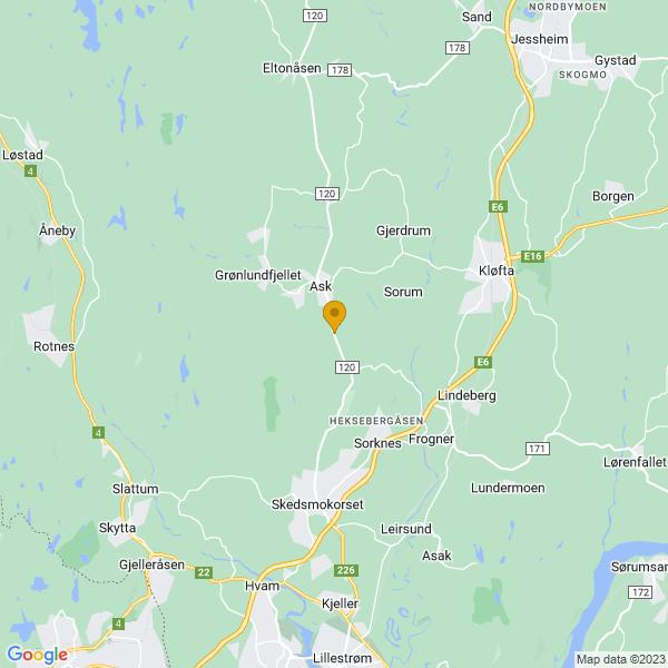 Google Map of 60.0568656,11.042811