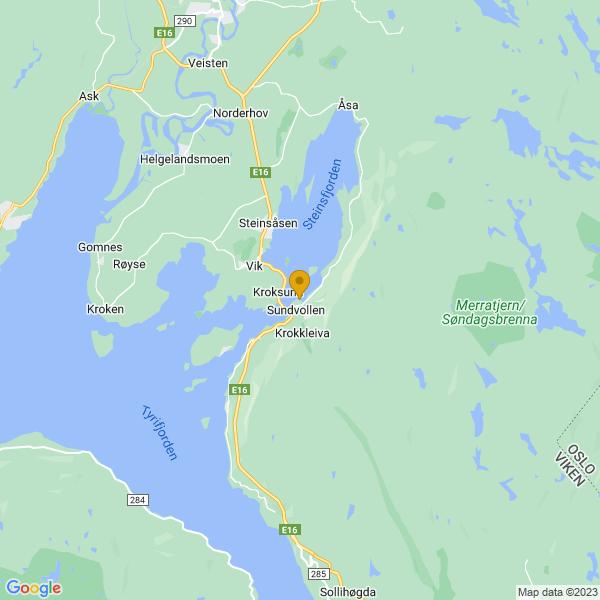 Google Map of 60.0654337760797,10.312668732974245